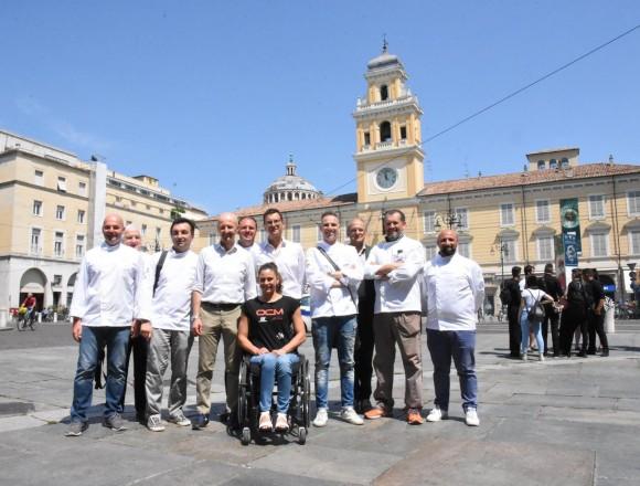 Gli chef di Parma Quality Restaurants agli Europei di Dublino