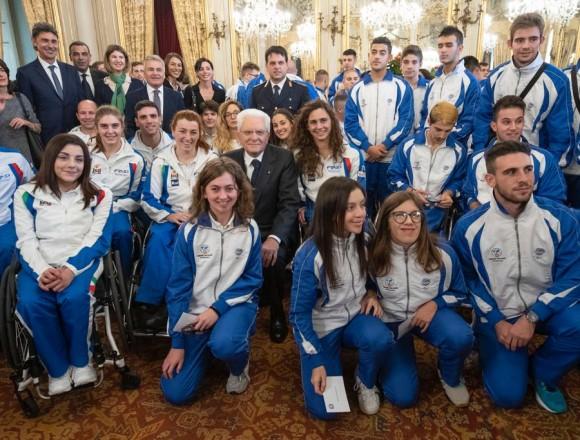 Premiazione al Quirinale: Giulia Ghiretti ospite del Presidente della Repubblica