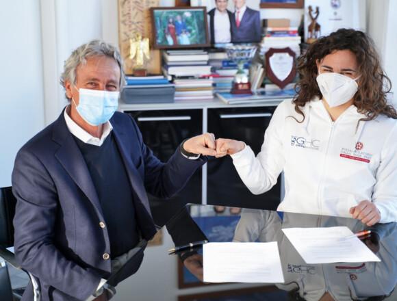 Il Poliambulatorio Dalla Rosa Prati al fianco di Giulia in tutto il percorso di allenamento verso gli Europei e Tokyo2021