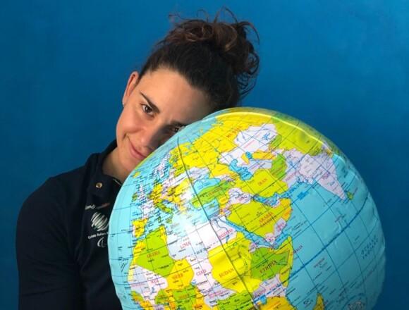 Giulia alla maratona di One Peolple One Planet su Raiplay