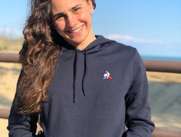 Giulia entra nel team di atleti Le Coq Sportif