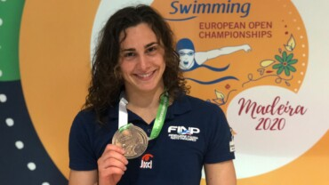 Terza gara di Giulia e…bronzo!