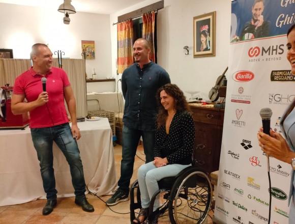 Giulia Ghiretti ringrazia la città di Parma