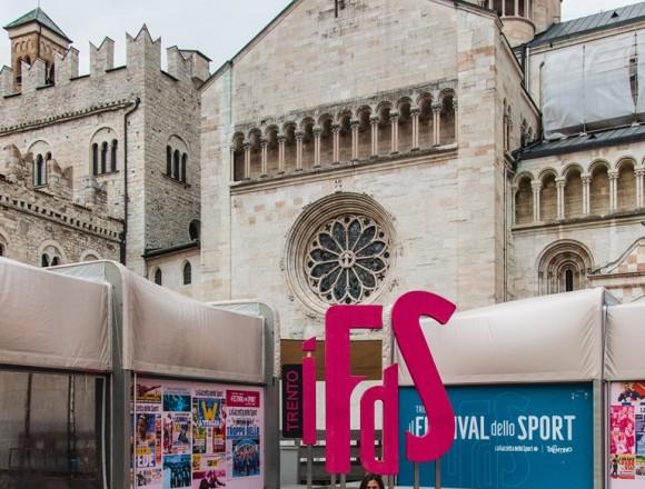 Giulia Ghiretti protagonista al festival dello sport di Trento